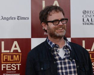 """Actor Rainn Wilson attends the """"Middle of Nowhere"""" premiere in Los Angeles"""