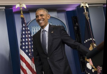 President Obama holds a press conference at the White House
