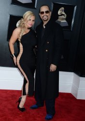 Coco Austin and Ice-T arrive at 60th Annual Grammy Awards in New York