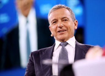 Walt Disney CEO Bob Iger speaks at the Bloomberg Global Business Forum in New York