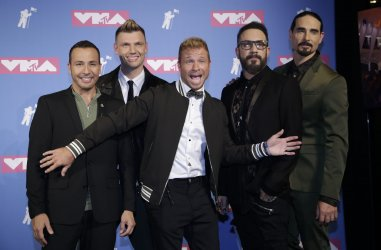 The Backstreet Boys at the MTV Video Music Awards in New York