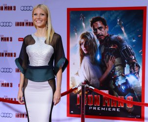"""Gwyneth Paltrow attends the """"Iron Man 3"""" premiere in Los Angeles"""