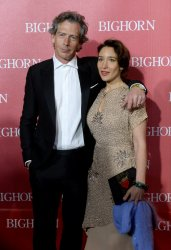 Ben Mendelson and Emma Forrest attend the Palm Springs International Film Festival in Palm Springs, California