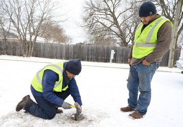 Record cold weather cause power and water issues in Texas