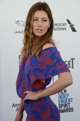 Jessica Biel attends the 31st annual Film Independent Spirit Awards in Santa Monica, California