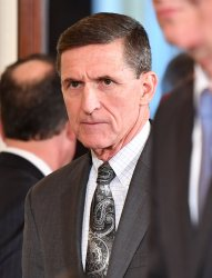 National Security Advisor Michael Flynn at the White House.