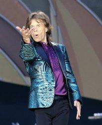 Rolling Stones perform in concert in Paris