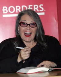 """Roseanne Barr signs copies of her book """"Roseannearchy"""" in New York"""