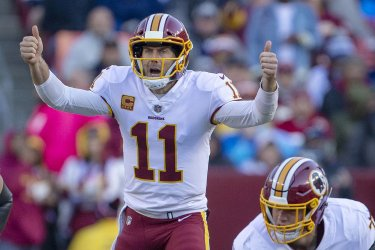 Redskins quarterback Alex Smith