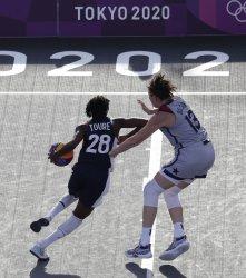 Women's 3X3 Basketball Semifinals at Tokyo Olympics