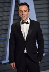 B.J. Novak attends the Vanity Fair Oscar Party in Beverly Hills