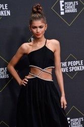 Zendaya attends E! People's Choice Awards in Santa Monica