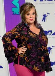Catelynn Lowell attends the 2017 MTV Video Music Awards in Inglewood, California