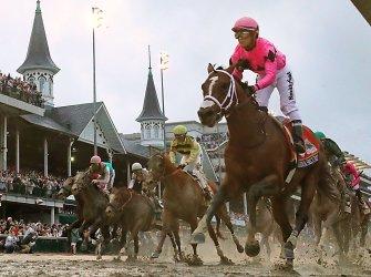 Kentucky Derby at Churchill Downs in Louisville, Kentucky