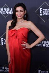 Jenna Dewan backstage at E! People's Choice Awards in Santa Monica