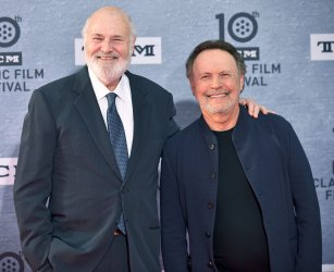 Billy Crystal and Rob Reiner attend TCM Classic Film Festival