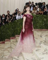 Scarlett Johansson at the Met Gala in New York