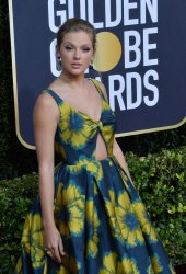 Taylor Swift attends the 77th Golden Globe Awards in Beverly Hills