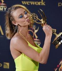 Hayley Erin attends 2019 Daytime Emmy Awards