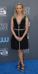 Reese Witherspoon attends the Critics' Choice Awards in Santa Monica