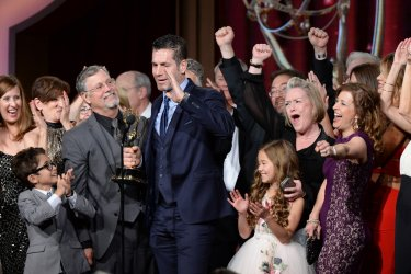 """General Hospital"" wins Outstanding Drama Series award at the 43rd Daytime Emmy Awards in Los Angeles"