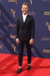 Derek Hough attends the Creative Arts Emmy Awards in Los Angeles