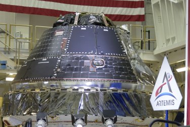 Orion Spacecraft at the Kennedy Space Center