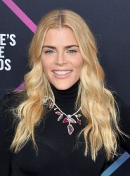 Busy Philipps attends the 44th annual E! People's Choice Awards in Santa Monica, California