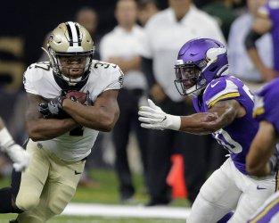 New Orleans Saints running back Javorius Allen