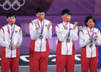 China Wins Bronze in Women's 3X3 Basketball at Tokyo Olympics