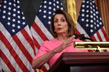 Nancy Pelosi speaks on Democratic takeover of the House
