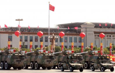 China's celebrates 60th Anniversary with a military parade in Beijing