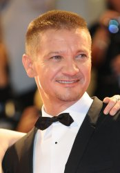Jeremy Renner attends the premiere for Arrival during the 73rd Venice Film Festival in Italy