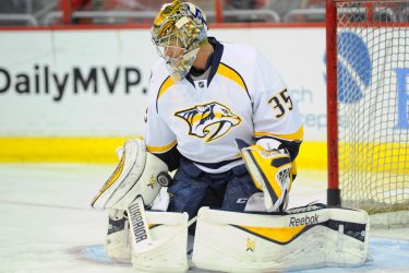 Washington Capitals vs Nashville Predators in Washington