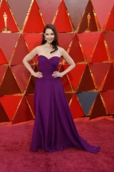 Ashley Judd arrives for the 90th annual Academy Awards in Hollywood