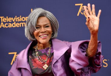 Cicely Tyson attends the Creative Arts Emmy Awards in Los Angeles