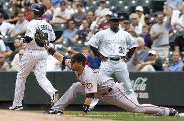 San Francisco Giants vs Colorado Rockies
