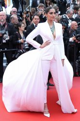 Sonam Kapoor attends the Cannes Film Festival