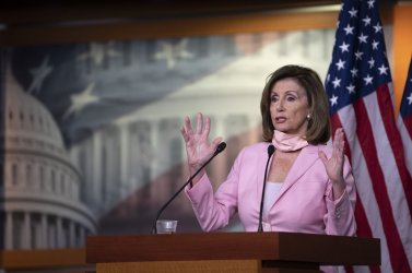 Speaker Pelosi holds her weekly press conference in Washington, DC