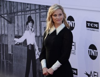 Reese Witherspoon arrives for AFI's Life Achievement tribute gala in Los Angeles