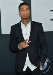 Tyga attends the Los Angeles premiere of 'Dope'