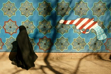 Old U.S. embassy in Tehran