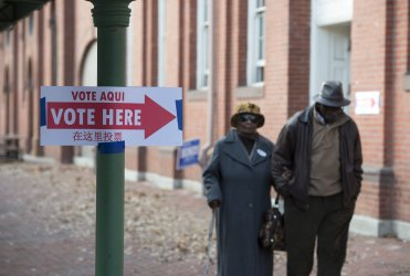Voters cast ballots in Washington DC