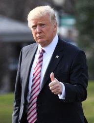 Trump Leaves for Philadelphia at the White House