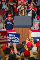 Kimberly Guilfoyle Speaks at a President Trump Rally