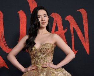 """Yifei Liu attends the """"Mulan"""" premiere in Los Angeles"""