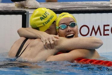 Australia's McKeon sets new Olympic record in Women's 100m Freestyle Final