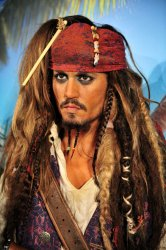"Madame Tussauds unveils a wax figure of Johnny Depp as Captain Jack Sparrow in celebration of the release of ""Pirates of the Caribbean: On Stranger Tides"" in Washington"