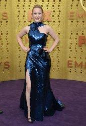 Rachel Brosnahan attends Primetime Emmy Awards in Los Angeles