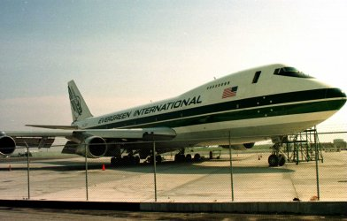 747 used to test causes for twa flight 800 crash